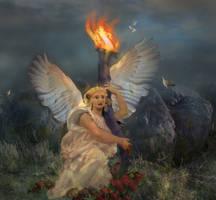 Angel of Hope by LindArtz