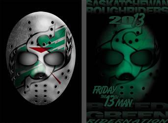 Mask Poster Riders by zapfogldorf