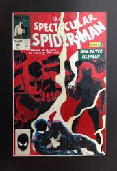 Spiderman Comic Cover by zapfogldorf