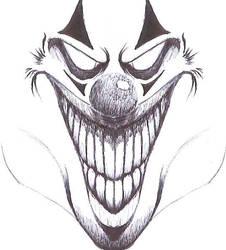 Crazy Clown by zapfogldorf