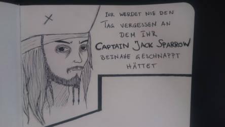 Captain Jack Sparrow 2.0 by Byuchen