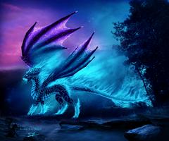 Blue Fire by Selianth