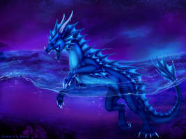 Water Dragon by Selianth