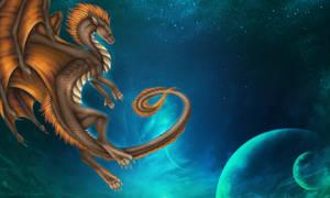 Through deep space - Tankana