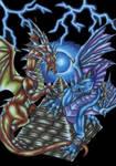 Dragons and Pyramid
