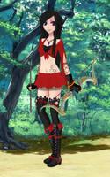 Tenue Archere/ Archergirl by erza51rock