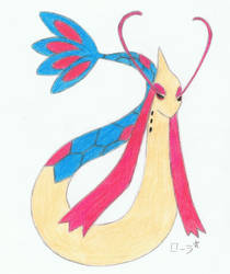 Milobellus/Milotic by erza51rock