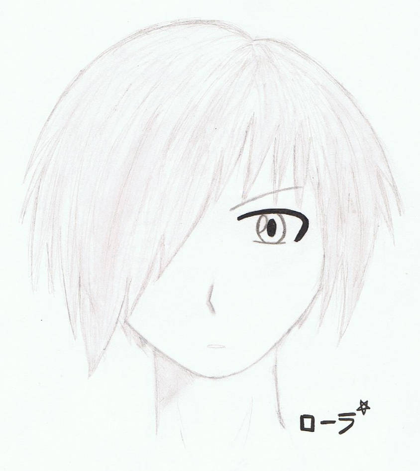 Portrait manga boy by erza51rock