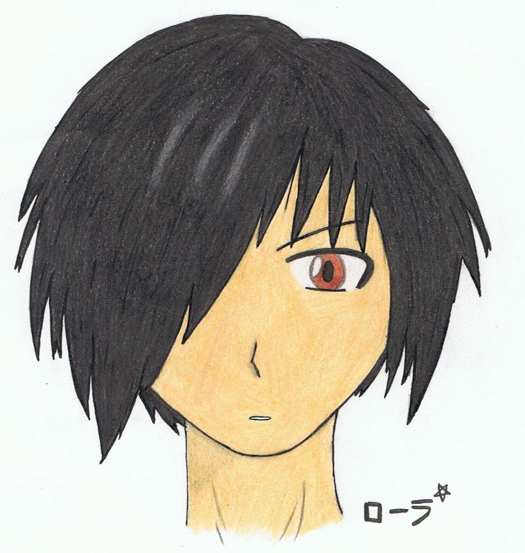 Portrait manga boy [colors]