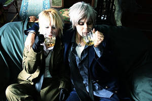 Prussia and England-More Beer by oishii-tomato