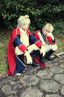 UK and Prussia - Wipping by oishii-tomato