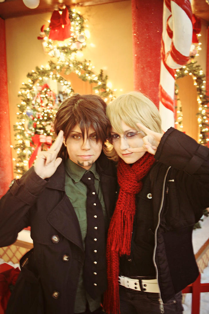 A x-mas day - Tiger and Bunny 2 by oishii-tomato