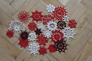Christmas Snowflakes by BramboraCzech