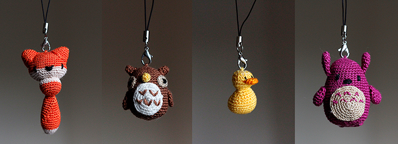 Crochet Mini Animals by BramboraCzech