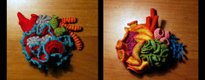 Coral Reef Brooches