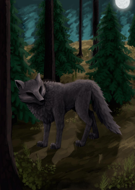 Wolf's secret.. by sankaritinn