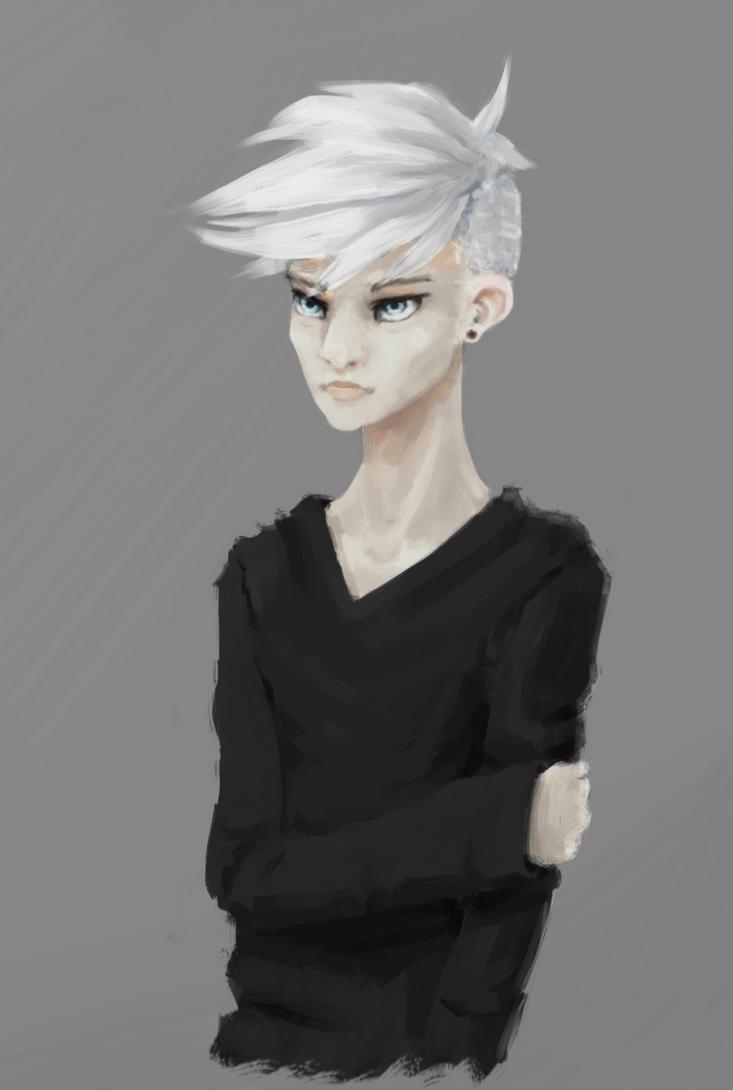 Silver-blonde by sankaritinn