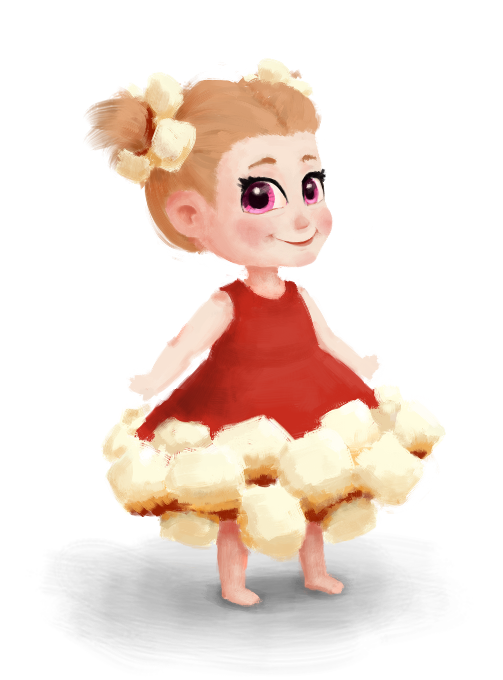 Popcorn Girl by sankaritinn