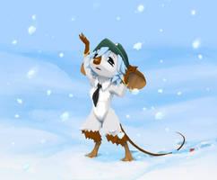 Snowing by sankaritinn