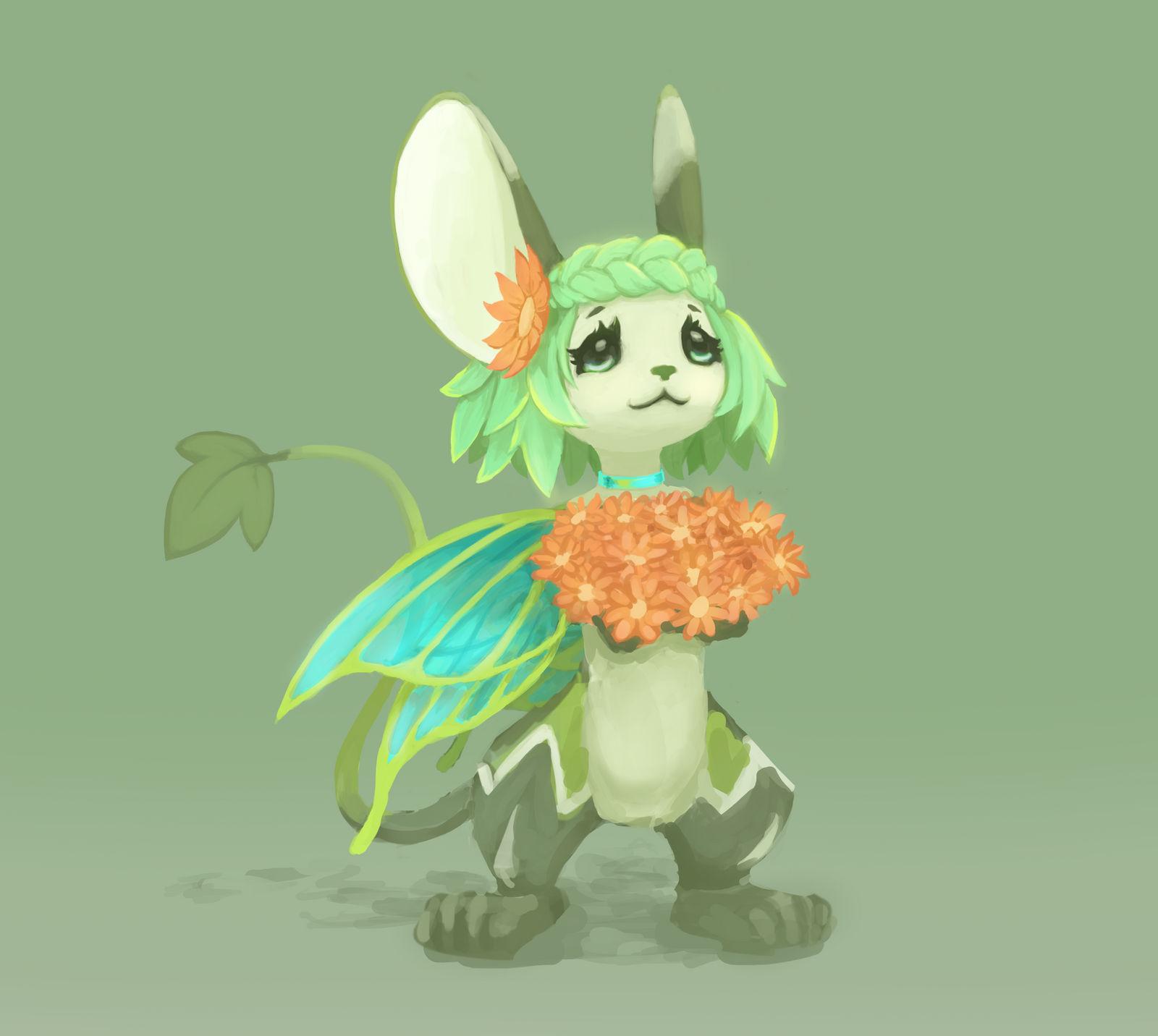 Fairy Mousey by sankaritinn