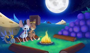 Under The Moonlight by sankaritinn