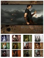 2009 Fantasy Art Calendar by MelissaFindley