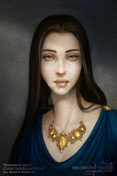 Character Portrait: Rhiannon