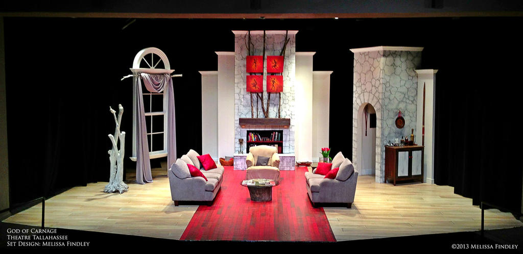 God of carnage set design by melissafindley on deviantart for Three room set design