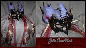 Goblin Queen Mask by MelissaFindley