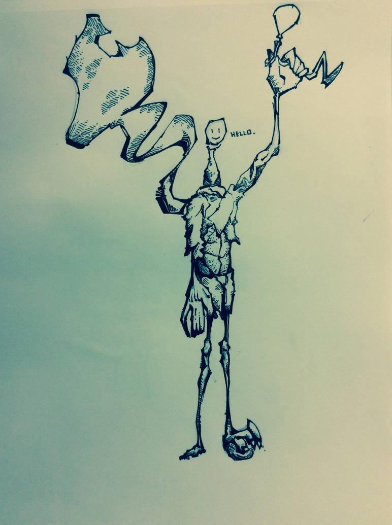 Balloon Man by Project2AWashington on DeviantArt