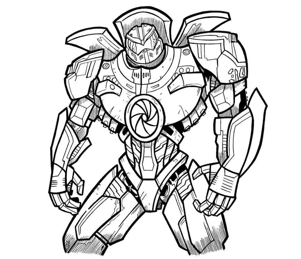 Gipsy Danger By Tripod2005 On Deviantart