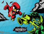 Red vs Peashooter (Angry Birds vs PvZ)
