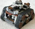 Medium Steam Tank Mk. XXI (front)