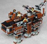 Super-Heavy Steam Hex-Walker Mk. XXV (front)