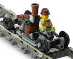 Super-Light Steam Rail Scout Mk. LI