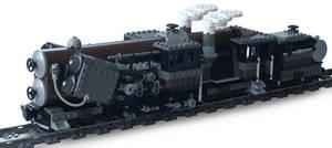'Titan-Class' Double-Boiler Locomotive