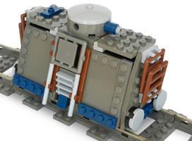 Armored Handcar (Steam Railtank Mk. LXXIV) by RRaillery