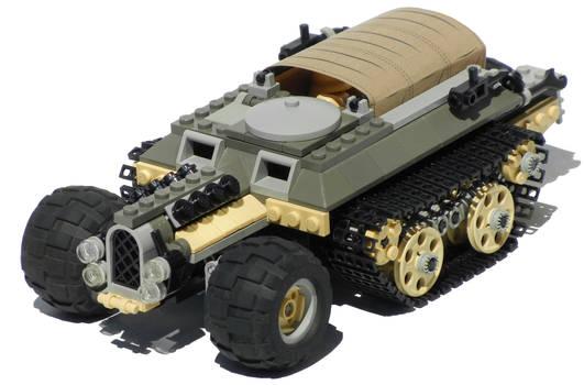 'Iguana' Diesel Transport Half-Track Mk. XXII