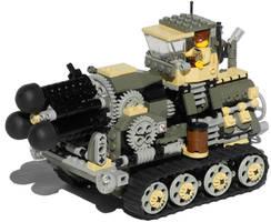 'Hog' Heavy Diesel Artillery Mk. XXV by RRaillery