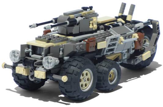 'Podargos' Five-Wheeled Light Diesel Combat Truck