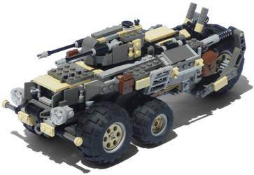 'Podargos' Five-Wheeled Diesel Combat Truck