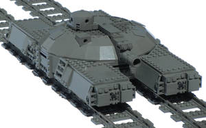 Light Double-Gauge Artillery Railbarge Mk. LXXVI