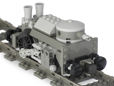 [Improved] 'Draisine-Class' Steam Railtank Mk. LIX