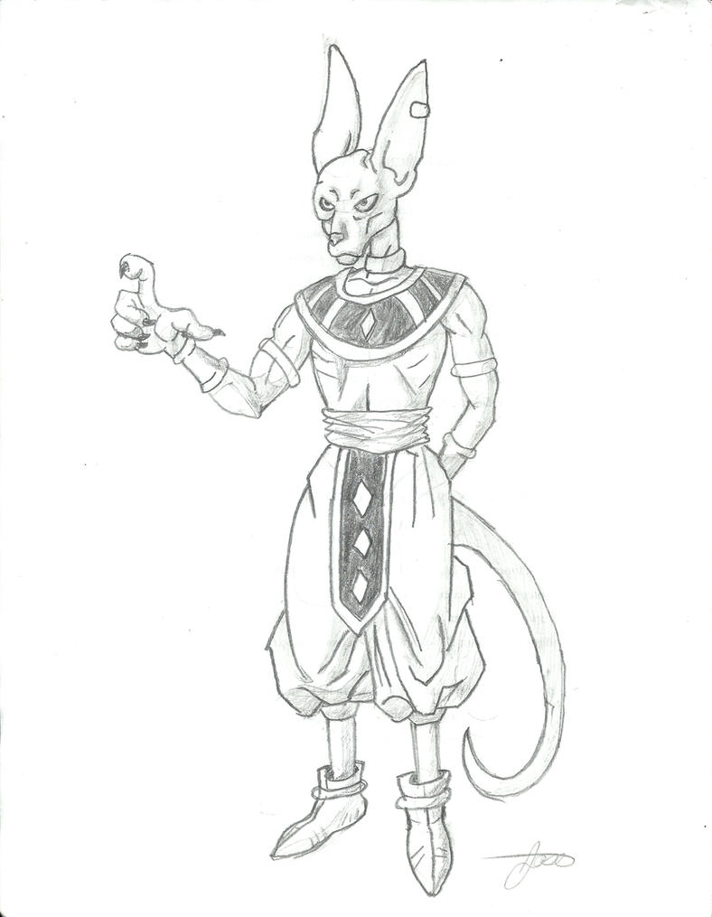 dibujo bills dragon ball z by dokunart21 on DeviantArt
