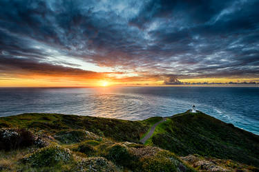 Cape Reinga HDR by wolfblueeyes