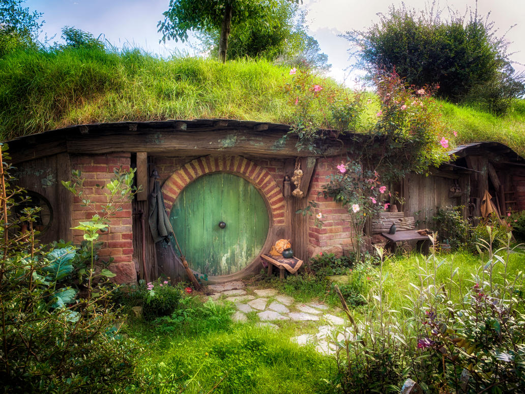 Hobbit hole by wolfblueeyes on deviantart for House photos hd