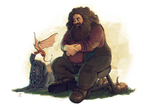 Hagrid-FanArt