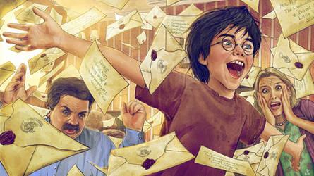 Harry Potter and the Philosopher's Stone-FanArt-02 by VladislavPantic