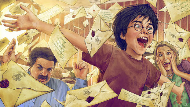 Harry Potter and the Philosopher's Stone-FanArt-02