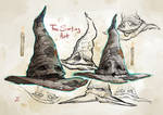 The Sorting Hat-Character Design